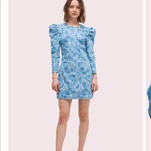 Kate Spade Abstract Peony Dress